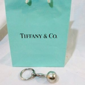 Tiffany & Co. Vintage Sterling Silver Baby Rattle